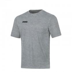 T-Shirt Base  hellgrau meliert