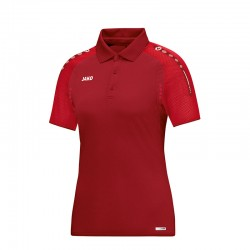 Polo Champ  weinrot/rot