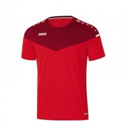 T-Shirt Champ 2.0  rot/weinrot