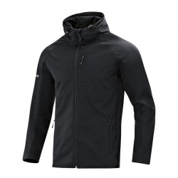 Softshelljacke Light  schwarz