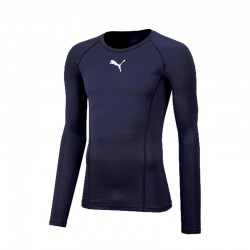 LIGA Baselayer Tee LS Peacoat