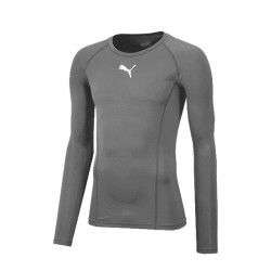 LIGA Baselayer Tee LS Steel...