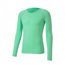 LIGA Baselayer Tee LS Green...