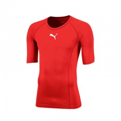 LIGA Baselayer Tee SS Puma Red
