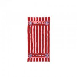 Handtuch rot/weiß FCB
