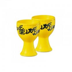 Eierbecher Gelbe Wand 2er...