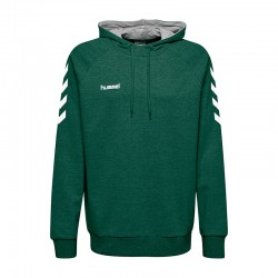 HMLGO COTTON HOODIE EVERGREEN