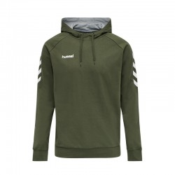 HMLGO COTTON HOODIE GRAPE LEAF