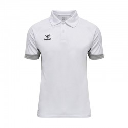 hmlLEAD FUNCTIONAL POLO WHITE
