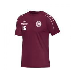 T-Shirt Classico maroon