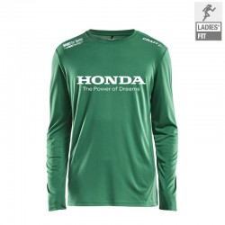 Rush LS Tee TEAM GREEN